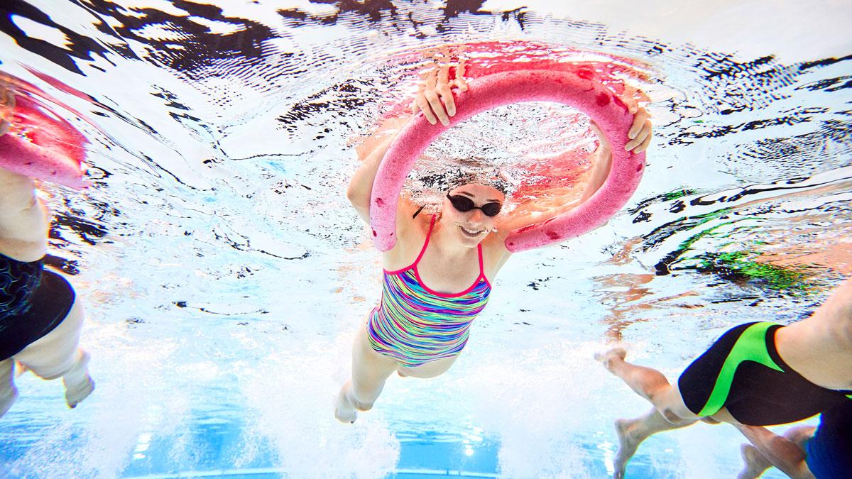 Float in water