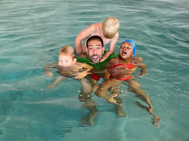Your personal swim coach Mohammed